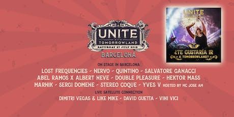 UNITE with Tomorrowland Barcelona 2019