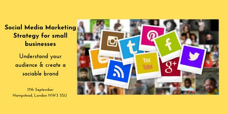 Social Media Marketing Strategy for Small Businesses tickets