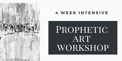 4 Week Intensive Prophetic Art Workshop: £10 per session