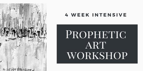 4 Week Intensive Prophetic Art Workshop tickets