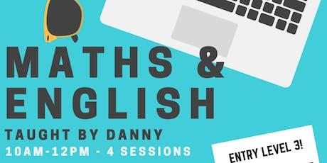 Maths & English Level 3 tickets