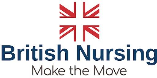 British Nursing Open Day  – Melbourne September 2019