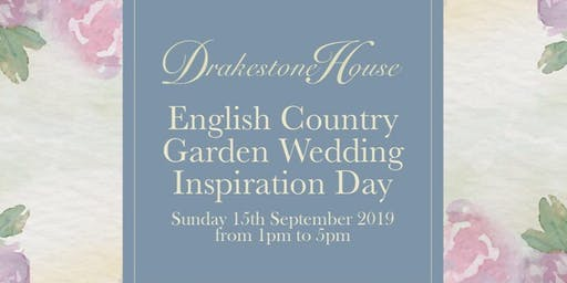 English Country Garden Wedding Inspiration Day at Drakestone House