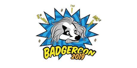 BadgerCon 2019 tickets