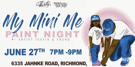 My Mini Me Paint Night- Richmond, Virginia tickets