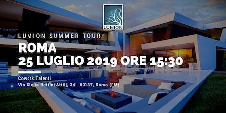 Presentazione Lumion Roma Nord biglietti