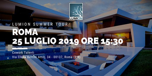 Presentazione Lumion Roma Nord