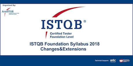 ISTQB Foundation Syllabus 2018: Changes&Extensions tickets