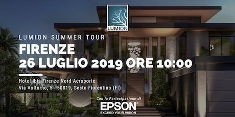 Presentazione Lumion Firenze biglietti