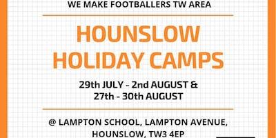 We Make Footballers Hounslow July Camp