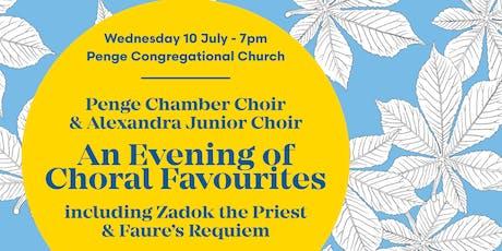 Penge Chamber Choir Summer Concert Featuring Alexandra Junior Choir tickets