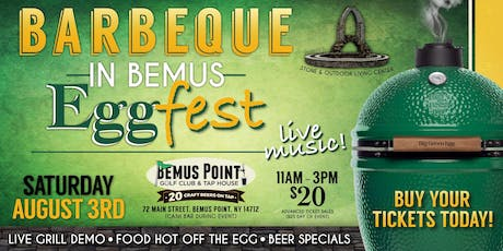 Barbeque in Bemus Eggfest tickets