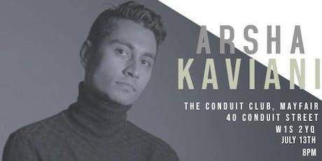 ARSHA KAVIANI Interactive Solo Piano Recital  @ The Conduit tickets