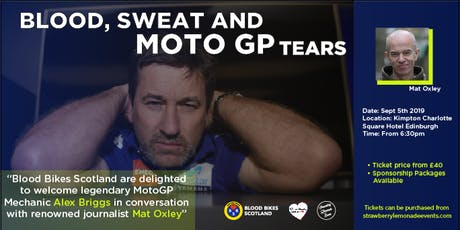 Blood, Sweat and MotoGP Tears tickets