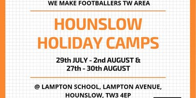 We Make Footballers Hounslow August Camp