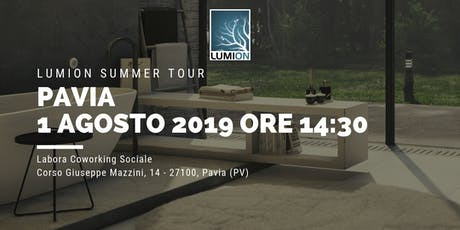 Presentazione Lumion Pavia biglietti