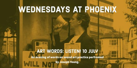 Art Words (10 July) tickets