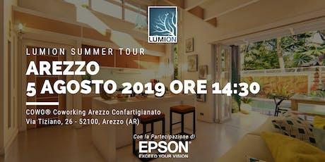 Presentazione Lumion Arezzo biglietti