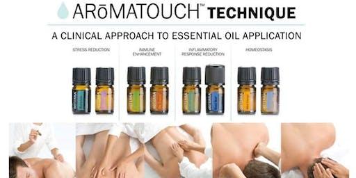 Aromatuch technique Massage.