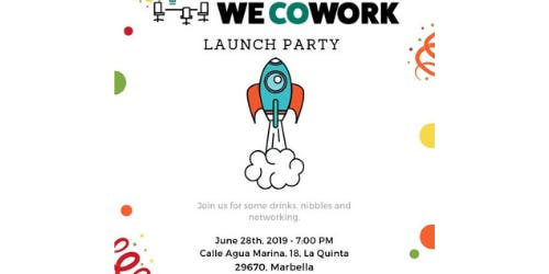 WeCowork Launch Party