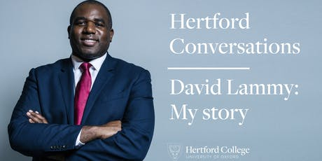 David Lammy: My Story tickets