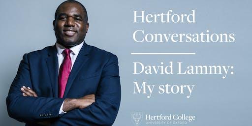 David Lammy: My Story