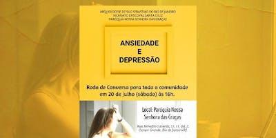Roda de Conversa sobre Ansiedade e Depressão