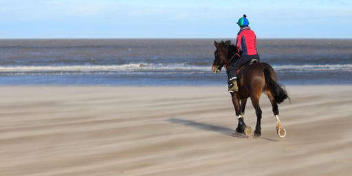 Park + Ride - Charity Equestrian Beach Ride for East Anglian Air Ambulance