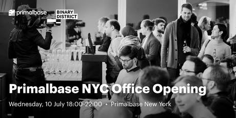 Primalbase NYC Office Opening tickets