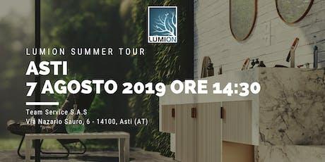 Presentazione Lumion Asti biglietti