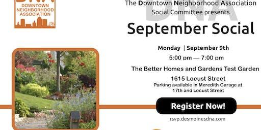 September 2019 Social at The Better Homes and Gardens Test Garden