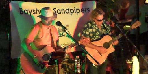 Bayshore Sandpipers on Rory's Pub Patio in Seabright
