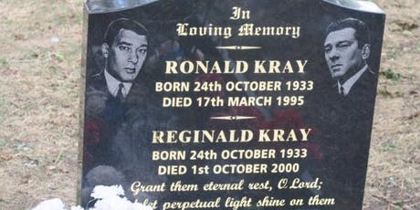 Guided walk  Footsteps of the Kray twins tickets