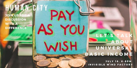 Human City: universal basic income tickets
