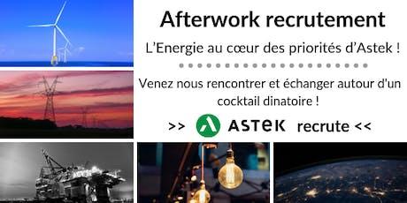 Afterwork recrutement : quelles possibilités de carrière dans l'Energie ? billets