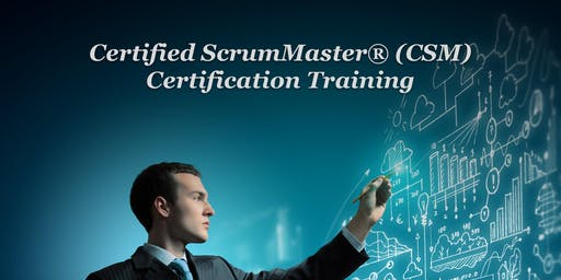 Certified ScrumMaster® (CSM) Training Course in Chicago