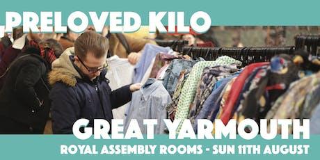 Great Yarmouth  Preloved Vintage Kilo tickets