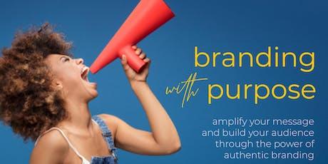 Branding with Purpose tickets