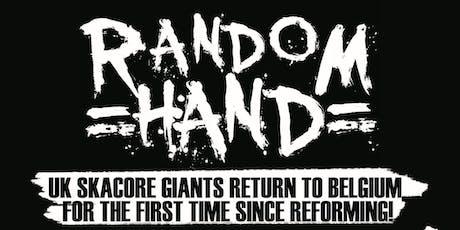 RANDOM HAND (UK) + KOALA COMMISSION (BE) tickets