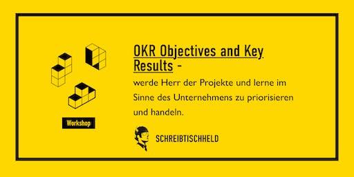 Workshop OKR (Objectives Key Results) mit Tilman Schwarz //SCHREIBTISCHHELD