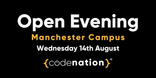 Code Nation Open Evening - Manchester Campus