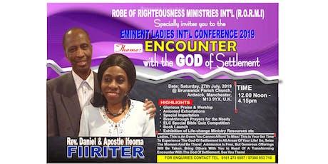 Eminent Ladies International Conference 2019 tickets