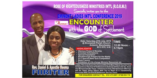 Eminent Ladies International Conference 2019