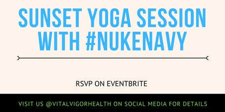 Sunset Yoga in The Park with NUKENAVY  tickets