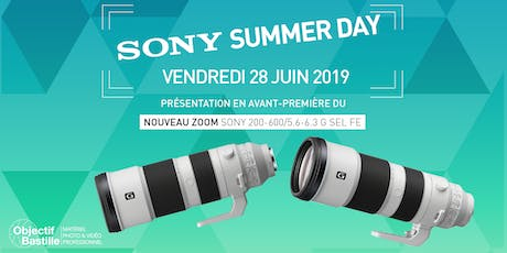 SONY SUMMER DAY #COMING #SOON billets