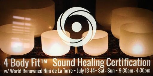 4 Body Fit Institute Sound Healing Certification