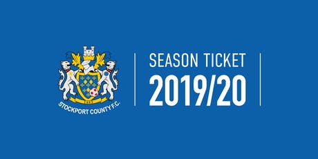 2019/20 Season Tickets tickets