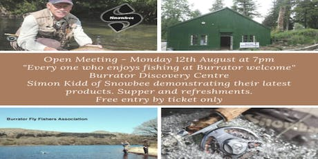 Burrator Fly Fishers Association Open Meeting tickets