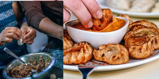 Making Nepali Momo with New American Arts Festival
