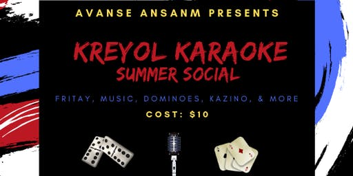Kreyol Karaoke Summer Social